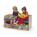 Click here for more Bench with Storage by Whitney Brothers by Worthington