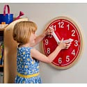 Click here for more What Time Is It? Wall Clock by Whitney Brothers by Worthington