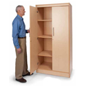 Tall and Wide Storage Cabinet by Whitney Brothers