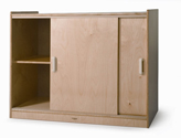 Click here for more Sliding Door Floor Cabinet by Whitney Brothers by Worthington