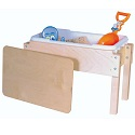 Click here for more Petite Tot Sand & Water/Sensory Table by Wood Designs by Worthington