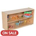Click here for more Adjustable Shelf Storage by Wood Designs by Worthington
