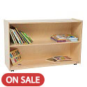 Click here for more Tip-Me-Not Shelf Storage by Wood Designs by Worthington