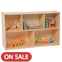 Tip-Me-Not Single Storage Units by Wood Designs