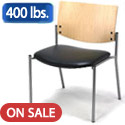 1300 Series Oversized Chairs w/ Wood Back by KFI