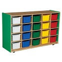 Click here for more Healthy Kids Colors Cubby Storage by Wood Designs by Worthington