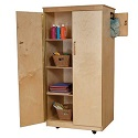 Click here for more Teacher's Lock-It-Up Cabinet by Wood Designs by Worthington