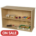 Click here for more 2 Shelf Modular Storage by Wood Designs by Worthington