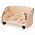 Click here for more Wood Block Storage Cart by Whitney Brothers by Worthington