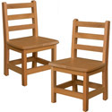 Click here for more Hardwood Birch Chairs by Wood Designs by Worthington
