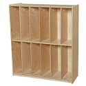 Click here for more 12 Section Locker by Wood Designs by Worthington