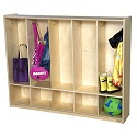 Click here for more 5 Section Toddler Locker by Wood Designs by Worthington