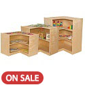 Click here for more Corner Storage by Wood Designs by Worthington