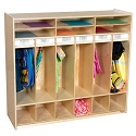 Click here for more Open Shelf Locker by Wood Designs by Worthington