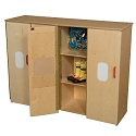 Click here for more Toddler Cubby Storage by Wood Designs by Worthington