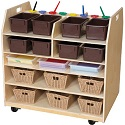 Click here for more Trolley Art Cart by Wood Designs by Worthington