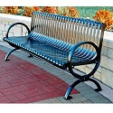 Wellington Outdoor Benches by Jayhawk Plastics