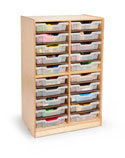 Click here for more 24- Tray Tower by Whitney Brothers by Worthington