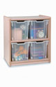 Click here for more Jumbo- Tray Melamine Storage Cabinet by Whitney Brothers by Worthington