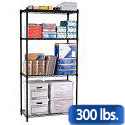 Click here for more Wire Shelving Units by OFM by Worthington