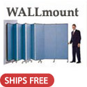 Portable WALLmount Partition by Screenflex