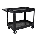Click here for more XLC11 Two-Shelf Heavy-Duty Utility Cart by Luxor by Worthington