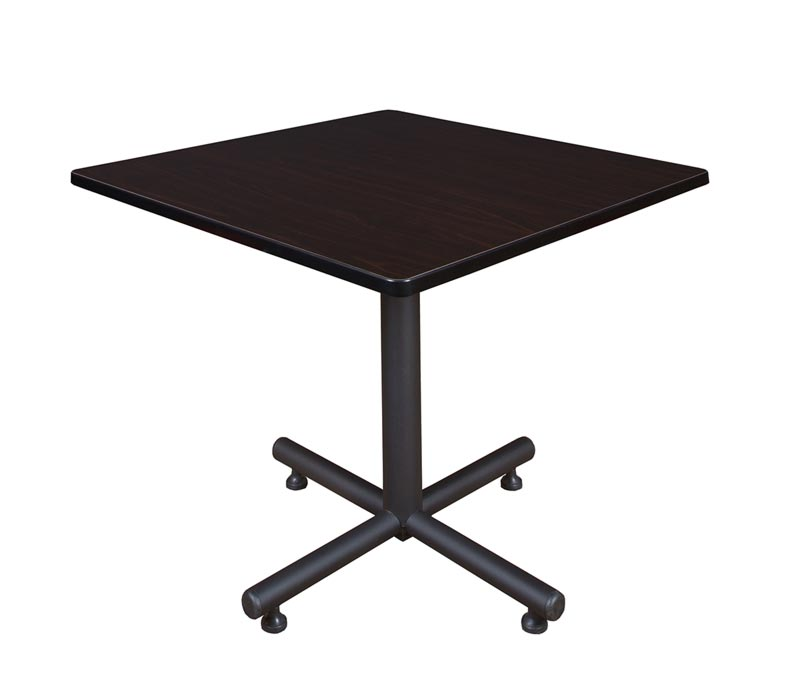 Regency Office Furniture Kobe Square Cafe Table Standard Height - Cafe table and chair dimensions