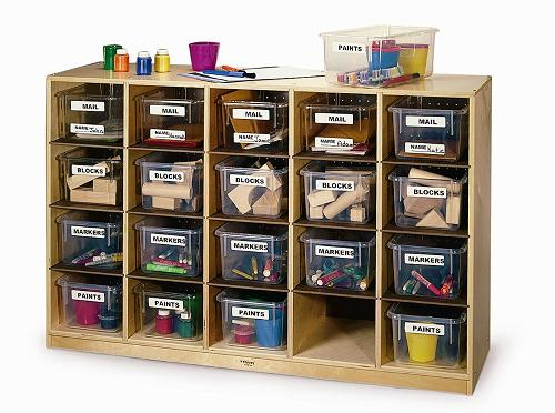 Example of Daycare Storage Cubbie