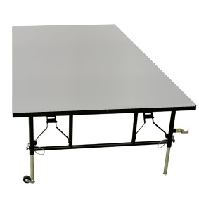 midwest folding products transfold portable stage riser w
