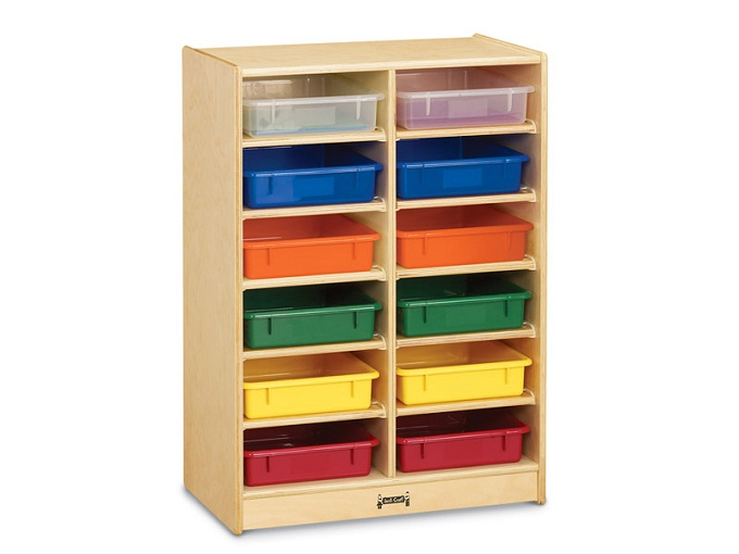 0613jc-12-paper-tray-cubbie-with-colored-trays
