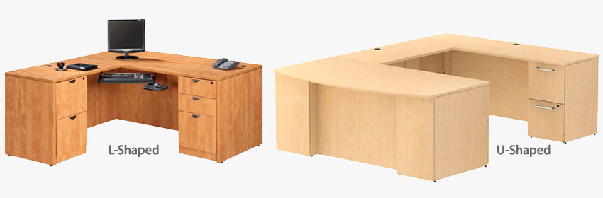 L-Shaped and U-Shaped Office Desk Comparison