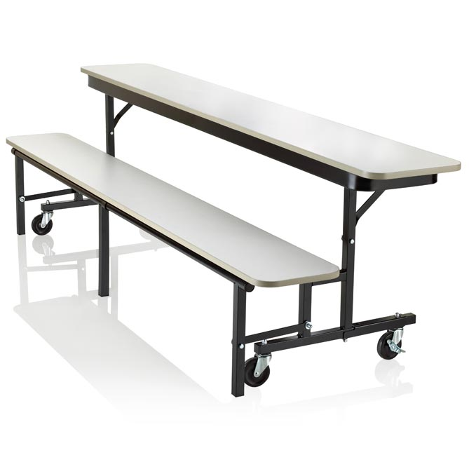 Merveilleux Ucb8 Uniframe Convertible Bench Table 8 Long