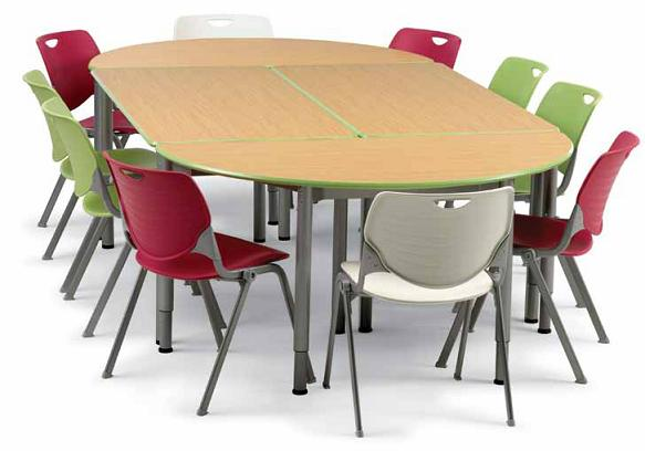 Classroom Activity School Tables