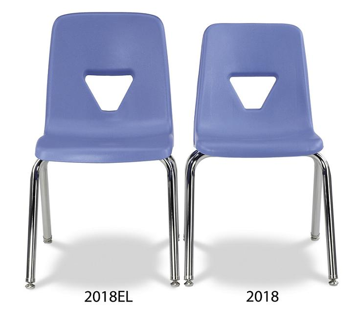 2018el 2000 Series Stack Chair   Extra Large