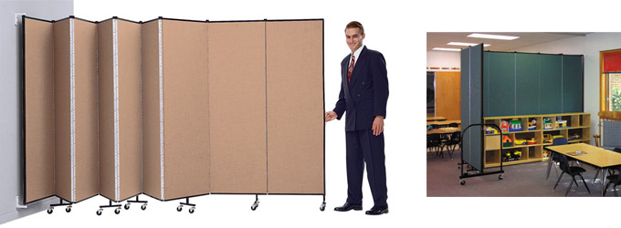 WallMount Screenflex Partition