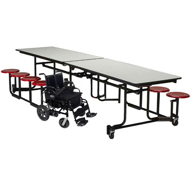 wauf128py-uniframe-wheelchair-accessible-cafeteria-stool-table-12-l-with-8-stools