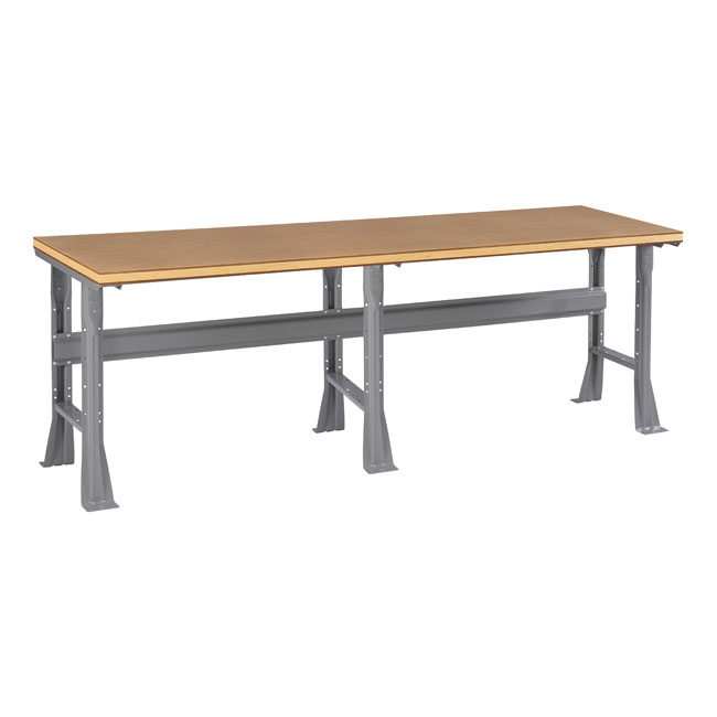 Tennsco Compressed Wood Top Workbench With Flared Legs 96