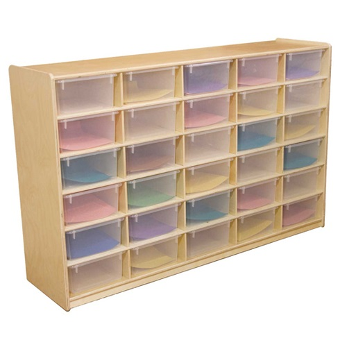 wd18561-5-letter-tray-mobile-storage-unit