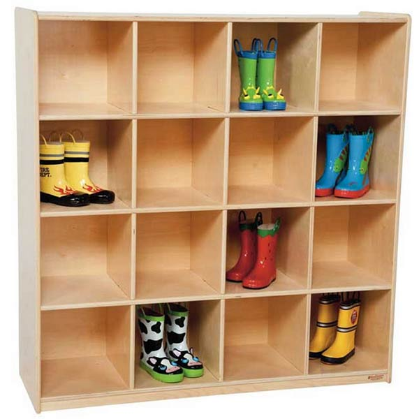 Wd50916 Big Cubby Storage 16 Cubbies