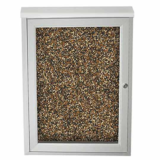 Best Rite Weather Sentinel Outdoor Enclosed Bulletin Board Cabinet 24