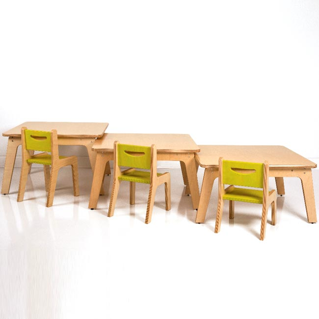 All Birch Tables By Whitney Plus Options Preschool