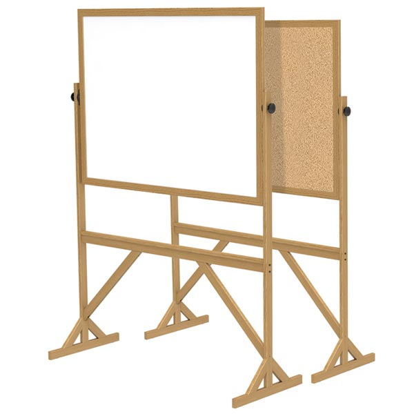 All Wood Frame Free Standing Reversible Boards By Ghent Options ...