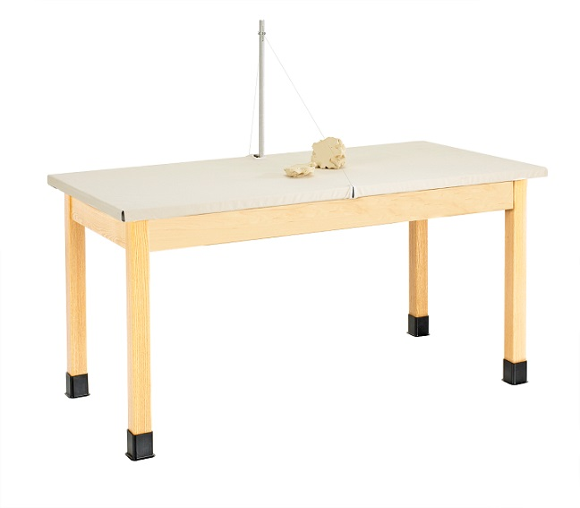 Shain Clay Wedging Table Wt7142m30n Classroom Art Tables Worthington Direct