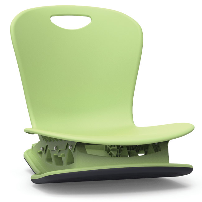 Zflrock18 Zuma Floor Rocker Chair 18 Shell