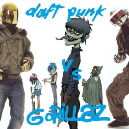 Daft Punk vs Gorillaz