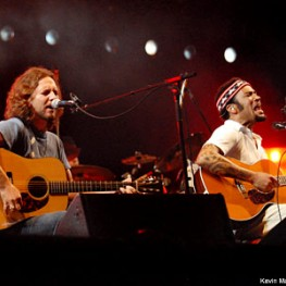 Eddie Vedder And Ben Harper