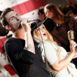 Maroon 5 and Christina Aguilera