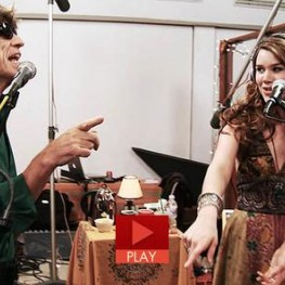 Mick Jagger and Joss Stone