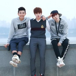 RAP MONSTER, SUGA, Jin