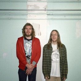 Zach Hill and Mick Barr